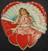Valentines- 2, Hearts w- Little Girls
