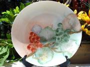 Thomas Sevres Bavaria Plate Hand Painted Grapes