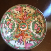 Japanese Plate Hand painted in Hong Kong