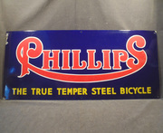 sign- phillips bicycle, porc
