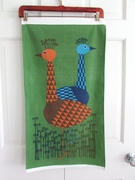 Vintage Swedish Wall Hanging Mod Birds