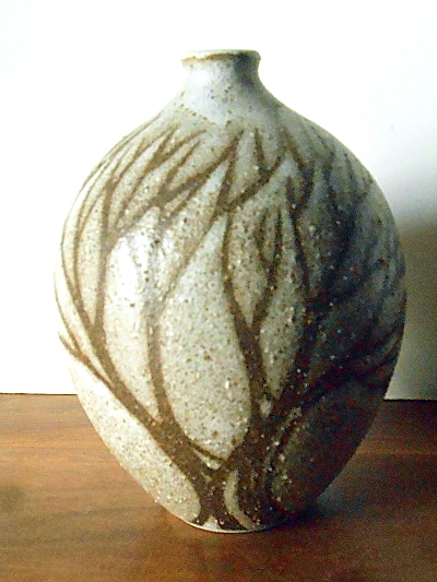 Andersen Design Studio Art Pottery Vase, Tree Branch