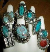 American Native Style Rings