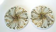 Pair of Royal Copenhagen Porcelain Trivets