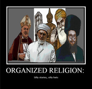 Organized Religion: Silly Stories, Silly Hats