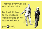 Rational v Emotional
