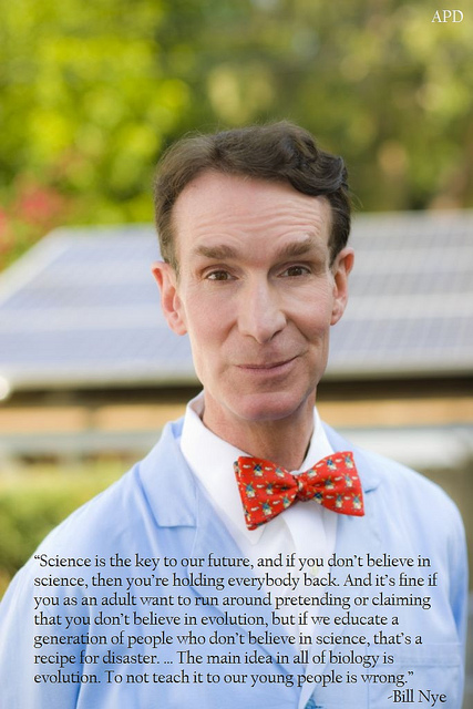 Science is the key to our future Bill Nye