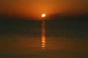 The Sun Rises over Placencia in Belize