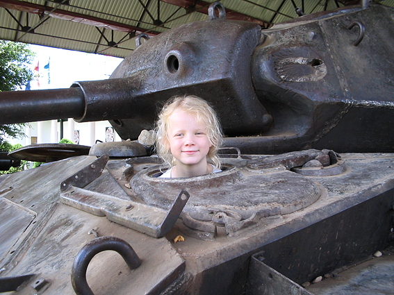 French tank with a new driver