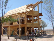 Avalon Log Homes - Log Home Construction Pictures