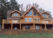 Avalon Log Homes- Log Home Exteriors