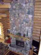 fireplace stones from our property