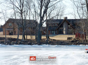 Cedar Falls Log Home | Vermont | Log Home Plans by PrecisionCraft