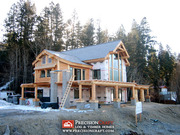 Log Home in Canada | Stoneridge Log Home Plan | PrecisionCraft Log Homes
