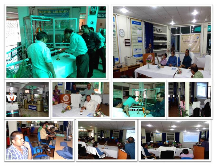 A View of Training Programme Held on 5.11.2014