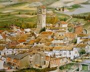 Torralba(Cuenca) Óleo lienzo 92x73cm.VICTOR DE DIOS 669946361 001