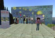 Foto grupo en Museo Van Gogh