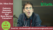 Dr Vikas Dua in India Treating Children With Cancer Worldwide