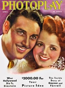 Photoplay - April 1931 - Janet Gaynor - Charles Farrell