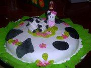 Torta Modelada Vaquita