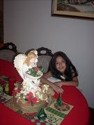 Ángel navideño