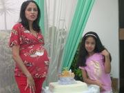 Mariana, Giuliana y torta Arca de Noé