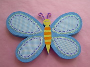 Mariposa hecha en foam