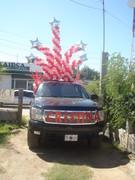 decoracion camioneta