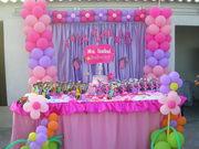 Decoración fiesta Angelina Ballerina