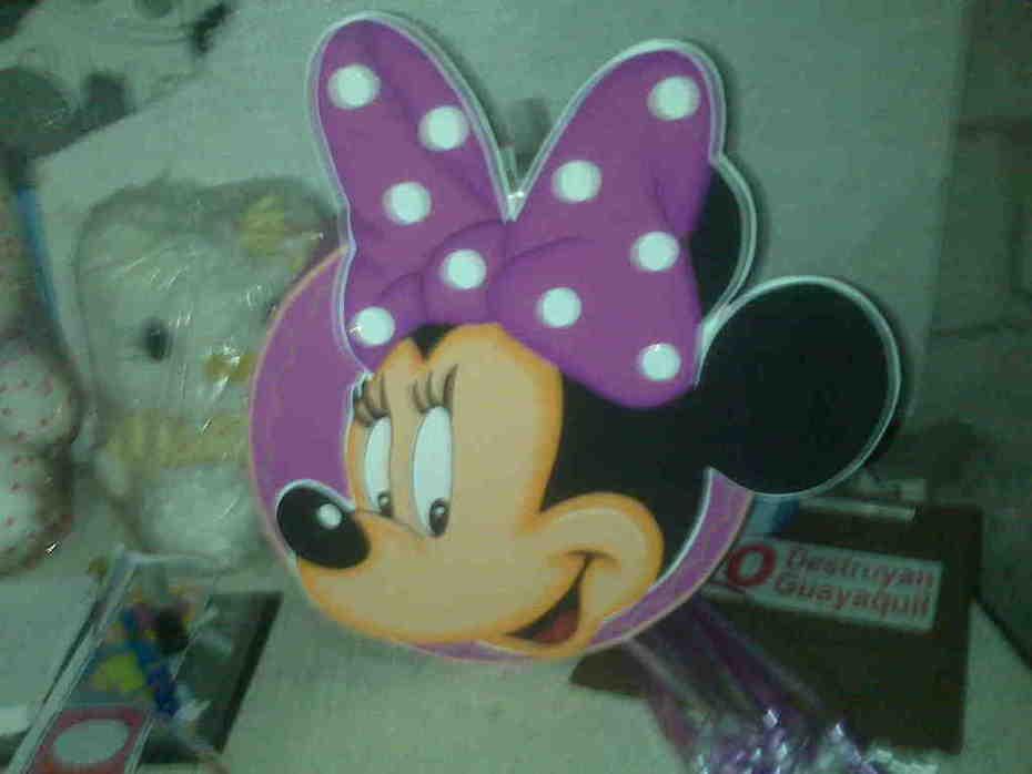 Piñata de Minnie Mouse
