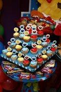 Cupcakes (ponquesitos) plaza sesamo