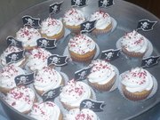 Cupcakes para Fiesta Pirata