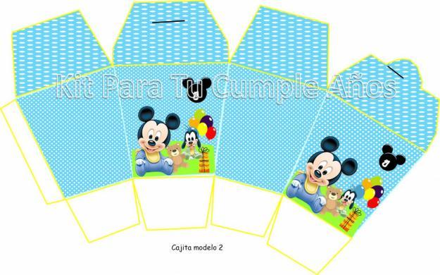 1339332506 395387753 3 Kit Imprimible Mickey Mouse Tarjetas