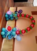 arco en globos marinero