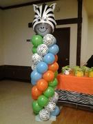 columnas de zebra
