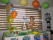 Decoración con globos varios temas