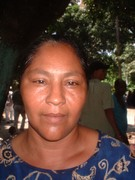 Woman from Ocoa-village in the south DR