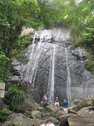 Cocos Falls, El Yunque, Puerto Rico