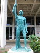 Wuarocuya aka Enriquillo_Statue_Santo_Domingo