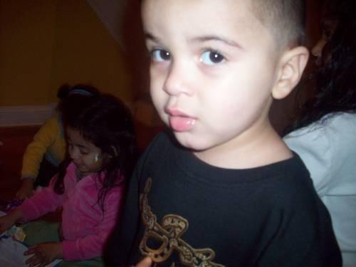 Mateo's papi chulo look LOL