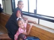 Jordan & Jasmin head to Governors Island