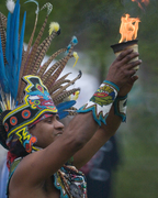 Jose Rico Fire ceremony