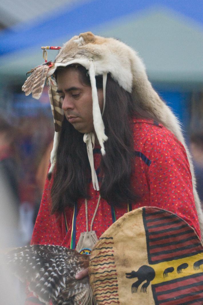 Alex  in Traditional Regailia