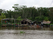 Arawak Village along the river