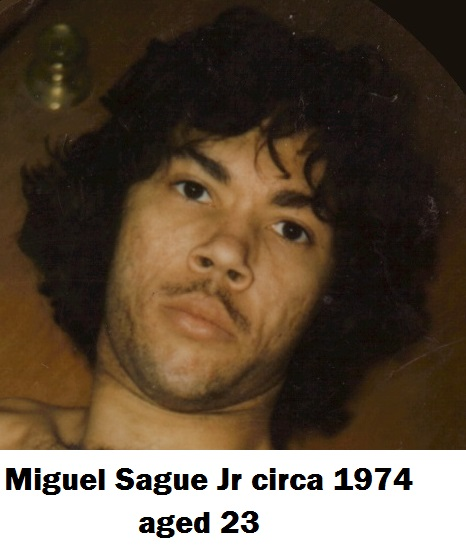 4 Miguel Sague 23 years old 1974