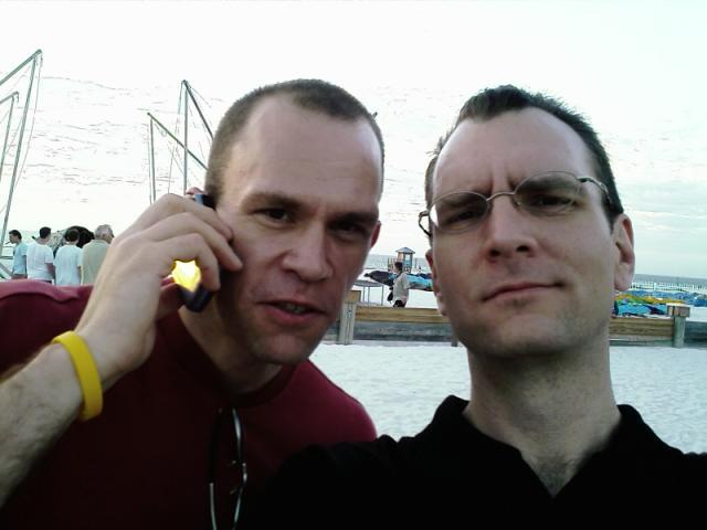 Derek & Arik at Frost & Sullivan 2008 CI Conference