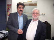 Personal visit by Arthur Weiss and Vivek Raghuvanshi to Reliance Anil Dhirubhai Ambani Group HQ