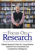 Odette Chair Craig Fleisher Focuses on Research
