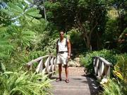 Visiting what appeared to tbe the Garden of Eden in Barbados.