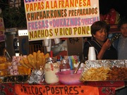 Street food in Mexico City